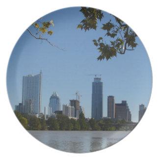 Downtown Austin Plate