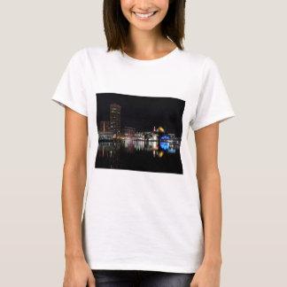 Downtown Baltimore at Night T-Shirt