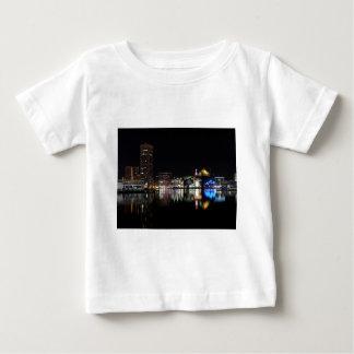 Downtown Baltimore at Night T Shirt