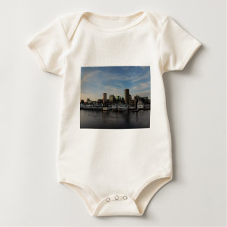 Downtown Baltimore at Sunset Romper