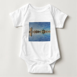 Downtown Baltimore Maryland Skyline Reflection T Shirt