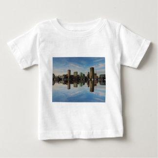 Downtown Baltimore Maryland Sunset Skyline Reflect T Shirt