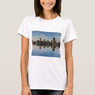 Downtown Baltimore Maryland Sunset Skyline Reflect T-Shirt