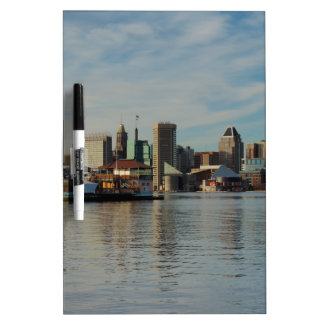 Downtown Baltimore Skyline Dry-Erase Boards