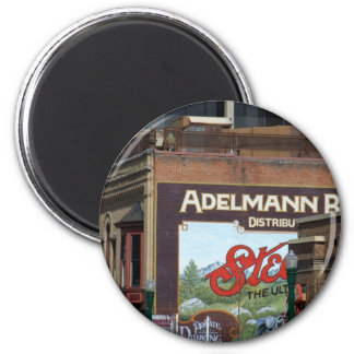 Downtown Boise 2 Inch Round Magnet