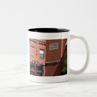 Downtown Boise Two-Tone Coffee Mug