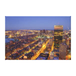 Downtown Boston and Hancock Tower Stretched Canvas Prints