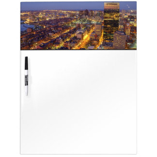 Downtown Boston and Hancock Tower Dry Erase Boards