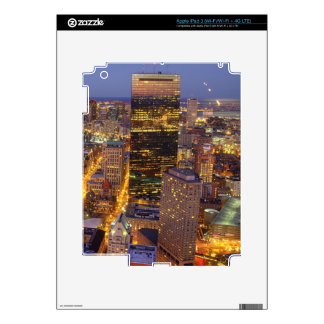 Downtown Boston and Hancock Tower iPad 3 Decals
