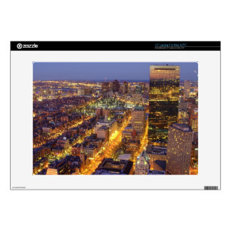 Downtown Boston and Hancock Tower Decal For Laptop