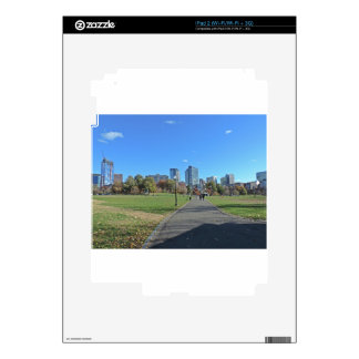 Downtown Boston Decal For The iPad 2