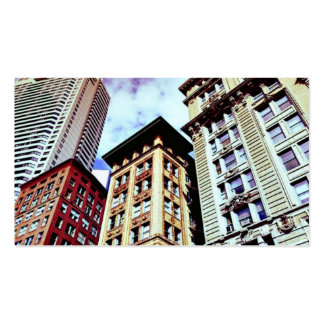 Downtown Boston Double-Sided Standard Business Cards (Pack Of 100)