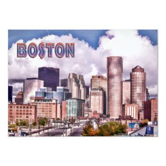Downtown Boston Dynamic Lighting TEXT Boston Card