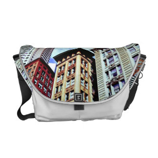 Downtown Boston Courier Bag