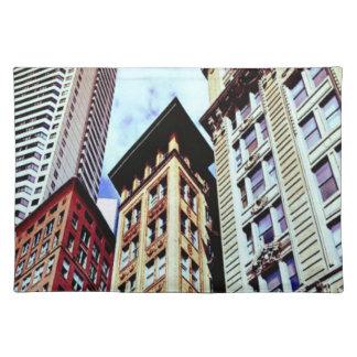 Downtown Boston Cloth Placemat