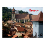 Downtown Brasov Post Card