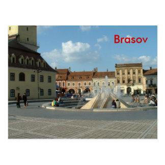 Downtown Brasov Postcard