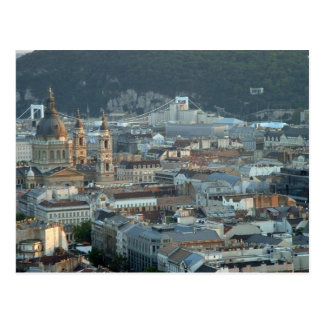 Downtown Budapest Post Card