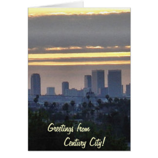 Downtown Century City Card