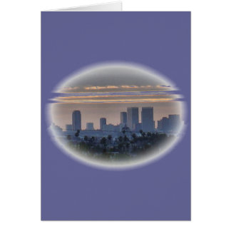 Downtown Century City Greeting Card