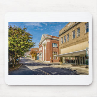 downtown chester town south carolina district coun mouse pad