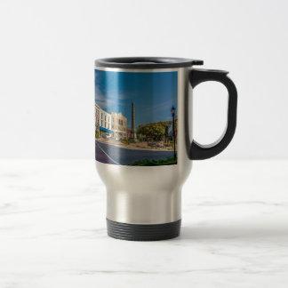 downtown chester town south carolina district coun travel mug