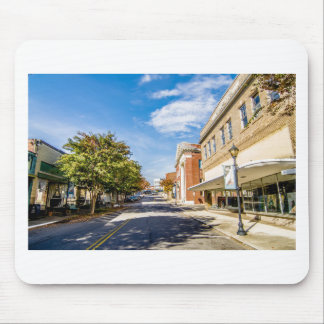 downtown chester town south carolina district mouse pad
