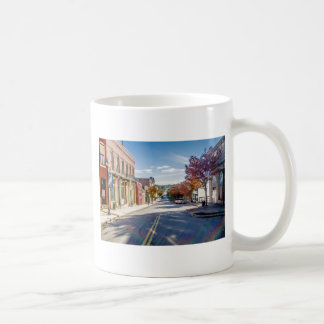 downtown chester town south carolina historic coun coffee mug