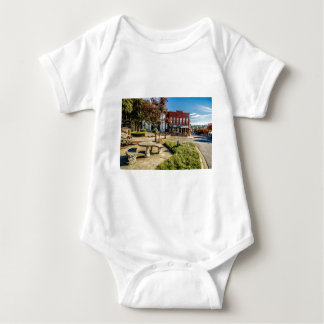 downtown chester town south carolina historic coun infant creeper