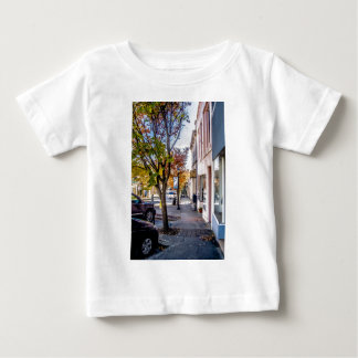 downtown chester town south carolina historic coun infant t-shirt