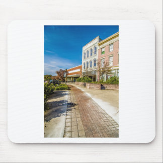 downtown chester town south carolina historic coun mouse pad
