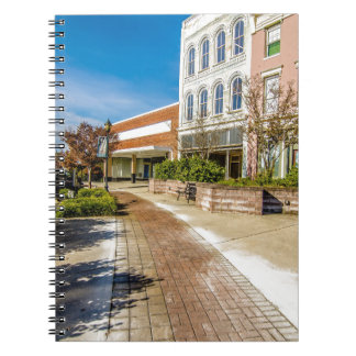 downtown chester town south carolina historic coun notebook