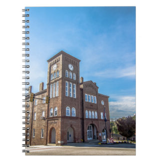 downtown chester town south carolina historic coun spiral notebook