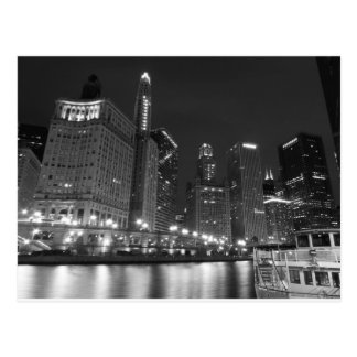 Downtown Chicago Black and White Post Cards