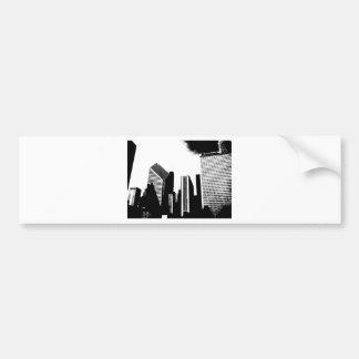 Downtown Chicago Bumper Sticker