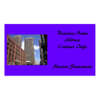 Downtown Chicago Double-Sided Standard Business Cards (Pack Of 100)
