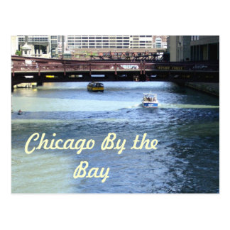 Downtown Chicago by the Bay Postcard