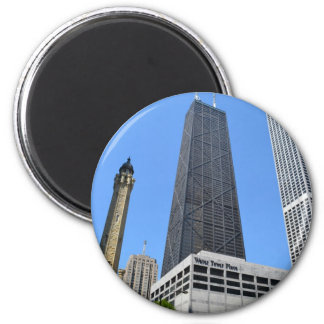 Downtown Chicago - John Hancock Building Magnet