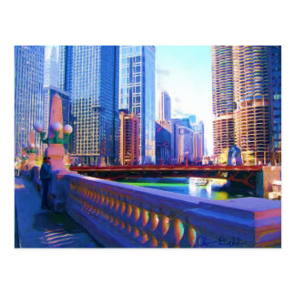Downtown Chicago Post Card