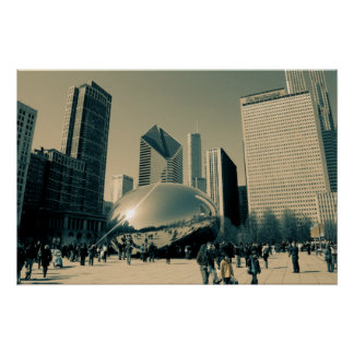 Downtown Chicago Poster