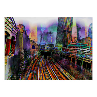 Downtown Chicago Print