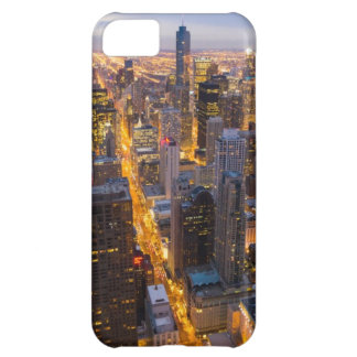 Downtown Chicago skyline at dusk iPhone 5C Covers
