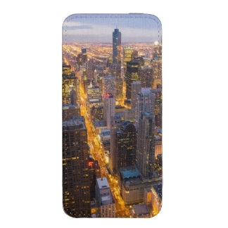 Downtown Chicago skyline at dusk iPhone SE/5/5s/5c Pouch