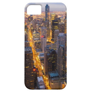 Downtown Chicago skyline at dusk iPhone SE/5/5s Case