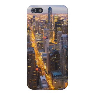Downtown Chicago skyline at dusk iPhone SE/5/5s Cover