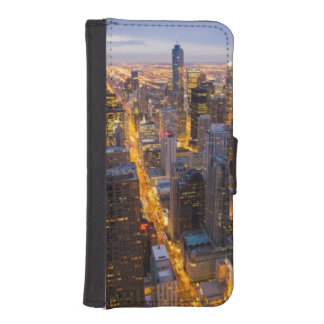 Downtown Chicago skyline at dusk iPhone SE/5/5s Wallet