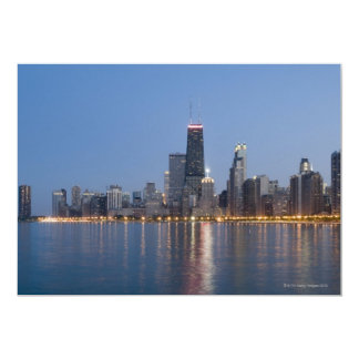 Downtown Chicago Skyline Card