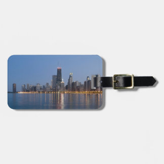 Downtown Chicago Skyline Luggage Tags