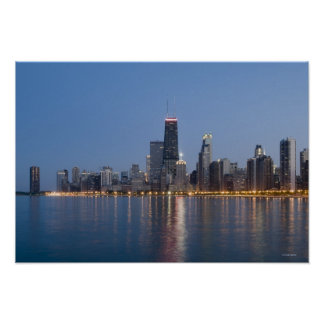 Downtown Chicago Skyline Posters
