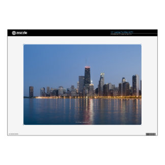 "Downtown Chicago Skyline Skins For 15"" Laptops"